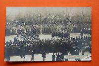 Adel Monarchie AK Leichenzug Kaiser Franz Josef 1916 Wien Garde Österreich K.u.K