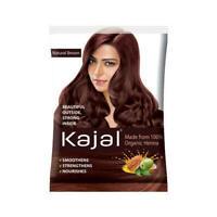 10 x12g Kajal Natural Brown Henna powder Hair color Made from 100% Organic Henna