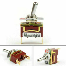 1x Toowei 2 Terminal 2pin Onoff 15a 250v Toggle Switch Boot Spst Grade Us