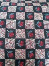 Tissus multicolores patchwork pour loisirs créatifs