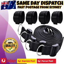 Under Mattress Bed Restraint System Handcuffs Fetish Bondage BDSM Adult Sex Toy