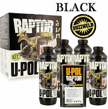 UPOL Raptor Super Tough Urethane Truck Bed Liner Spray On Black Coating Paint 4L