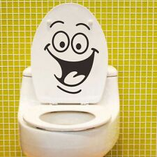 Cartoon Smile Wall Toilet Stickers All-match Style Mural Waterproof Great