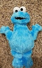 "9.5""  plush Cookie Monster doll, from Sesame Street Workshop EUC stuffed animal"