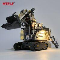 LED Light Up Kit For LEGO 42100 Technic Liebherr R 9800 Excavator Lighting Set