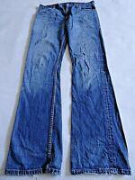 """LEVIS 507 Mens Jeans Slim Bootcut Blue Denim SIZE W32 L36 Waist 32"""" Leg 36"""" SALE"""