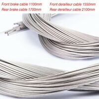 2x Road MTB Bike Shift Derailleur ShifterInner Cable Inner Wire 2.1Mx1.2MM