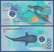MALEDIVEN / MALDIVES 1000 Rufiyaa 2015 Polymer UNC P.31