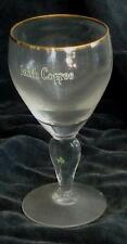 Nice Vintage Irish Coffee Footed Stemmed Goblet, GOOD COND, SMALL CHIP