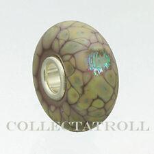 Authentic Trollbeads Purple Flower Mosaic Trollbead  62019