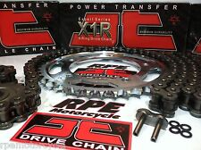 YAMAHA FZ8 FZ-8 FAZER JT X1R 530 Conversion CHAIN AND SPROCKETS KIT OEM, QA, Fwy