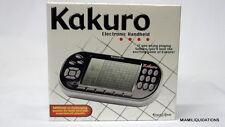 Excalibur Kakuro Handheld electronic portable game 486 The New York Times travel