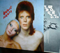 DAVID BOWIE  LP PIN UPS  MADE IN ITALY 1973 I^ PRESS INNER