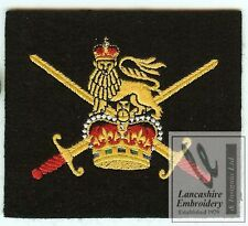 New Lancashire Embroidery British Army Blazer Badge