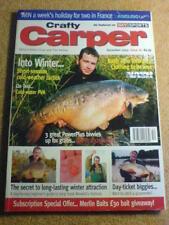 CRAFTY CARPER - COLD WATER PVA - Dec 2003