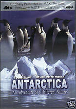 ANTARCTICA - THE ADVENTURE OF A DIFFERENT NATURE   DVD - FREE POST IN UK