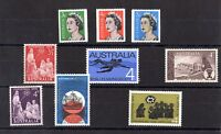 Australia QEII Mint Collection of 9 Values X8048