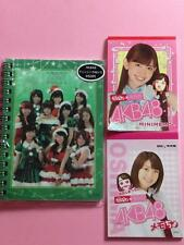 "AKB48, Official Goods ""Three Mini Memo Note Set"" Pink, Green, Puccho"