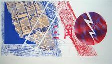 JAMES ROSENQUIST Signed 1978 Original Color Etching/Aquatint/Pochoir