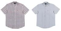 NEW Tommy Hilfiger Men's Short Sleeve Button Down Collar Shirt