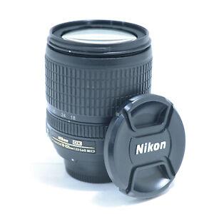 Nikon Zoom-Nikkor 18-105mm f/3.5-5.6 DX ED G VR AF-S Lens - Excellent!