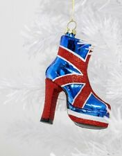 Retro Platform Boot Christmas decoration Ornament Jeffery Campbell Spice Girls