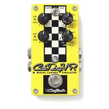DigiTech CabDryVR Dual Speaker Cabinet Cab Emulator Guitar Bass Effects Pedal