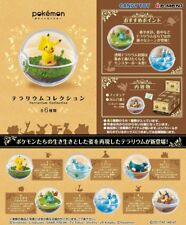 NEW REMENT Pokemon Terrarium Collection Pokeball Figure Pikachu Candy Toy 6 set