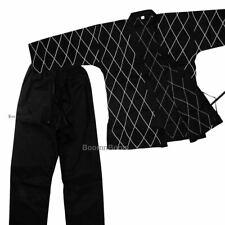 Hapkido Uniform Medium Weight New Hapkido Gi Martial Arts Uniform Black & White