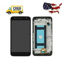 For LG X Charge X500 M327 L63BL Replacement LCD Screen Touch Digitizer Frame A++
