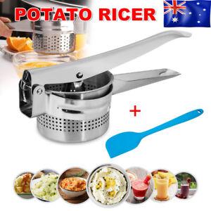 Stailess Steel POTATO RICER MASHER Fruit Vegetable Press Potatoe Gnocchi Press