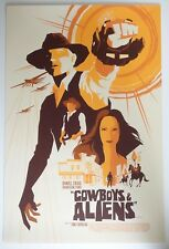 COWBOYS & ALIENS MONDO POSTER BY TOM WHALEN LIMITED EDITION SCREEN PRINT