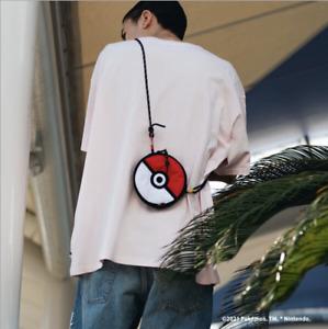 <FREE shipping> Levis x Pokemon POKEBALL CROSSBODY BAG 25th Anniversary