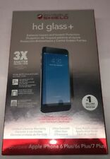 ZAGG Invisible Shield Tempered Glass Screen Protector for iPhone 8 Plus 7+ 5.5""