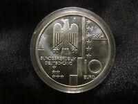 Münze 10 EURO Bundesrepublik Deutschland Bauhaus Dessau 2004 Gedenkmünze