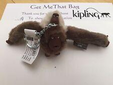 Kipling Mamá/madre y el bebé Mono KEYRING junio-Suave día lluvioso Primavera 17