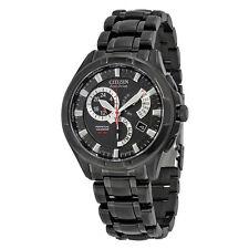 "NEW Citizen Men's BL8097-52E Eco-Drive ""Calibre 8700"" Black Ion-Plated Watch"