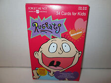 Vintage 1996 Rugrats Valentines Day Cards New Unopened