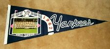 Vintage 1962 New York Yankees World Champions Photo Pennant