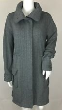 Patagonia Women's Better Sweater Coat Tinsmith Grid Feather Grey Size Medium NEW