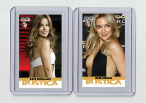 Kate Beckinsale rare MH Rustica #'d 3/3 Tobacco card no. 481