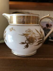 Royal Worcester Grainger Jug With Very Detailed Gilding In Pristine Condition