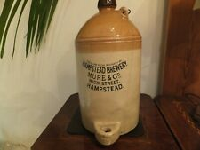 More details for antique hampstead brewery stoneware jar / vessel