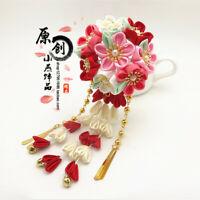 Sakura Tsumami Zaiku Kanzashi HairPin Stick for Kimono Accessory Japanese Flower