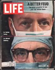 LIFE MAGAZINE 4/10 & 4/17 1970 MASH NIXON HAIR PT BARNUM HEART SURGERY BIN