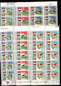 / 10X ROMANIA 1990 - MNH - SOCCER - ITALY