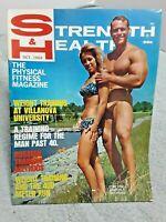 Strength & Health Magazine October 1968 Villanova Training Fitness Weightlifting