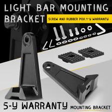 LED Work Light Bar Mounting Bracket Brackets Rotating Roll/Bull Universal ATV X2