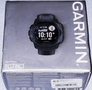 Garmin Instinct Rugged GPS Smart Watch - Graphite [010-02064-00]