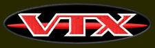 "HONDA VTX OVAL EMBROIDERED PATCH~4-3/4""x 1-3/8"" RICAMATO BORDADO PARCHE AUFNÄHER"